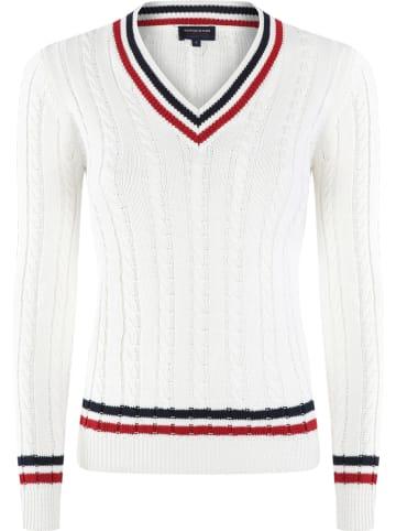GIORGIO DI MARE Sweter w kolorze kremowym