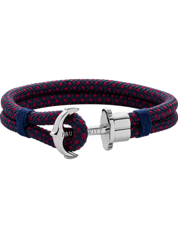 "Paul Hewitt Armband ""Anchor"" blauw-rood"
