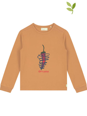 Smitten Organic Longsleeve oranje