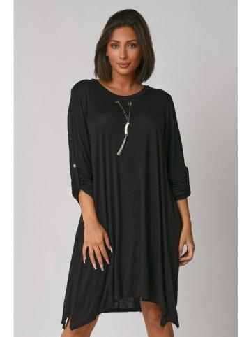 Plus Size Fashion Sukienka w kolorze czarnym