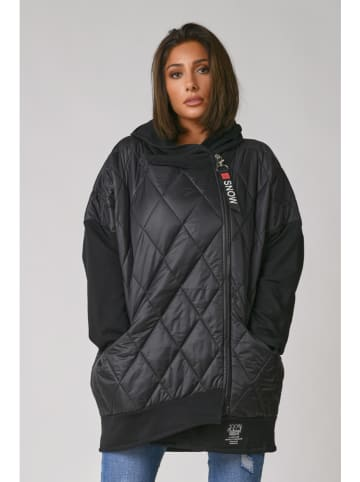 Plus Size Company Płaszcz przejściowy w kolorze czarnym