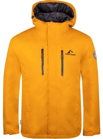 """Westfjord Kurtka przeciwdeszczowa """"Hengill"""" w kolorze żółtym"""