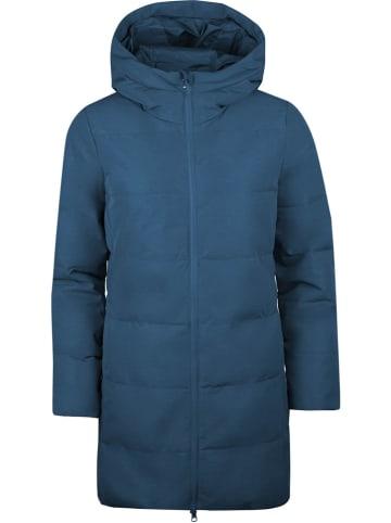 """Westfjord Płaszcz zimowy """"Borganes"""" w kolorze niebieskim"""