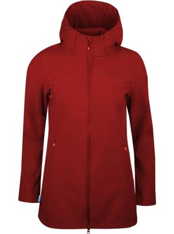 """Westfjord Płaszcz softshellowy """"Kirkjufell"""" w kolorze czerwonym"""