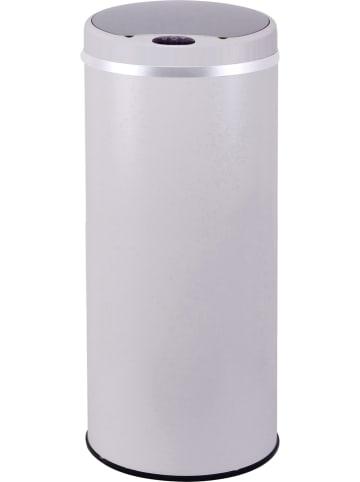 """Kitchen Move Kosz """"Soho"""" w kolorze białym na śmieci z czujnikiem ruchu - 42 l"""