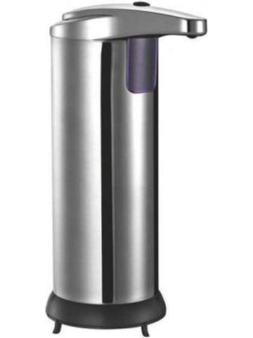 Kitchen Move Dozownik mydła w kolorze srebrnym z czujnikiem ruchu - 300 ml