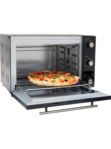 """Kitchen Move Multifunktionsbackofen """"Arizona"""" in Schwarz - 1.800 W"""