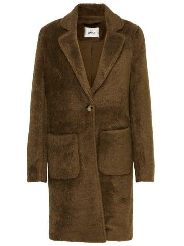 """ONLY Płaszcz przejściowy """"Claire"""" w kolorze brązowym"""