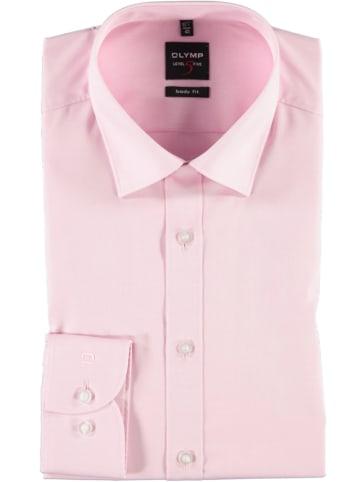 """OLYMP Koszula """"Level 5 New York"""" - Body fit - w kolorze białym"""