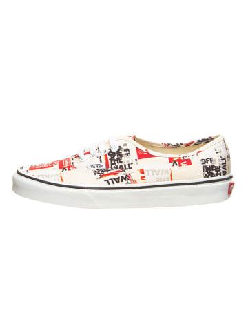 """Vans Sneakers """"Authentic"""" beige/rood"""