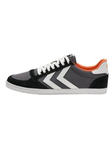 """Hummel Sneakersy """"Slimmer Stadil Low"""" w kolorze czarnym"""