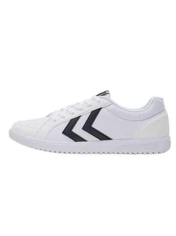 """Hummel Sneakersy """"Deuce Court Canvas"""" w kolorze białym"""