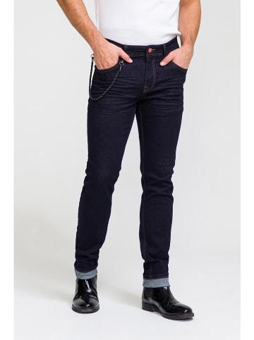 Ron Tomson Jeans - Slim fit - in Dunkelblau