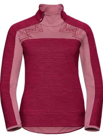 "Odlo Fleece trui ""Skadi"" rood"