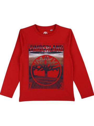Timberland Koszulka w kolorze czerwonym