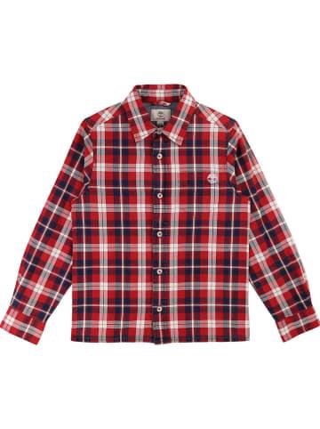 Timberland Koszula w kolorze czarno-czerwonym