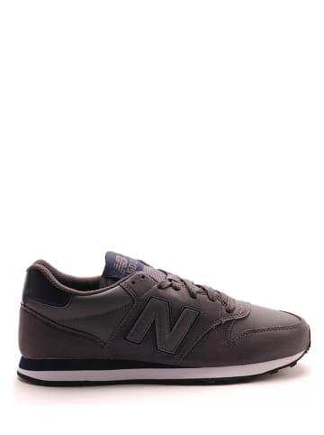 "New Balance Sneakers ""500"" donkergrijs"