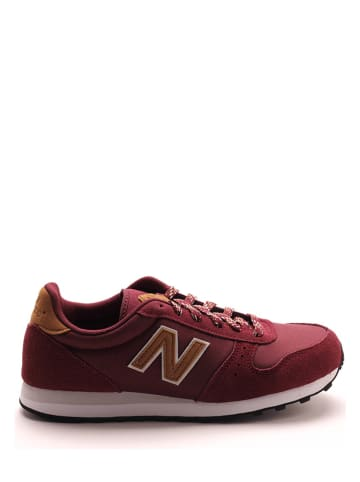 """New Balance Sneakers """"311"""" donkerrood"""