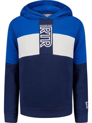 """Retour Sweatshirt """"Zaragoza"""" in Blau"""