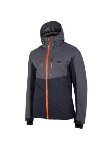 4F Ski-/snowboardjas zwart