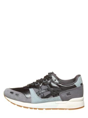"""Asics Leder-Sneakers """"Gel-Lyte"""" in Weiß/ Beige/ Schwarz"""