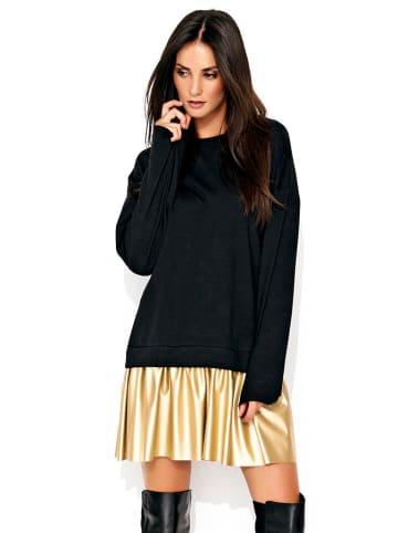 Numinou Kleid in Schwarz/ Gold