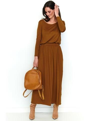 Numinou Kleid in Camel