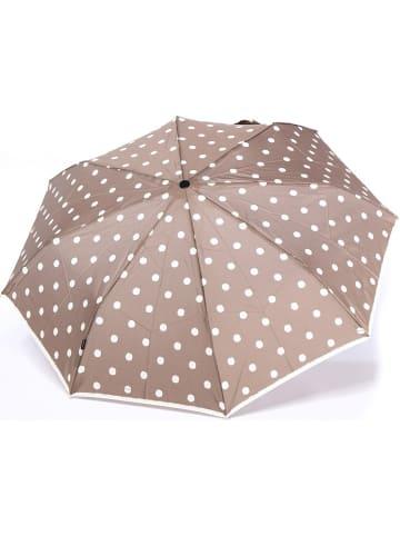 """Knirps Paraplu """"Fiber T21"""" beige/wit"""