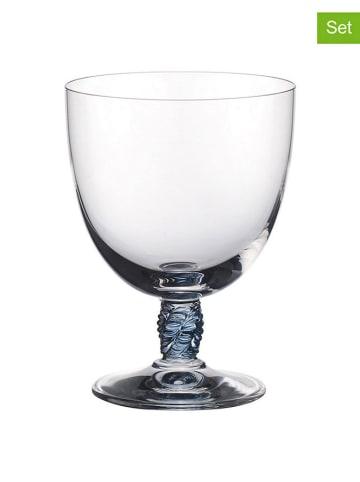 """Villeroy & Boch Kieliszek """"Montauk"""" (4 szt.) w kolorze turkusowym do wina - 385 ml"""