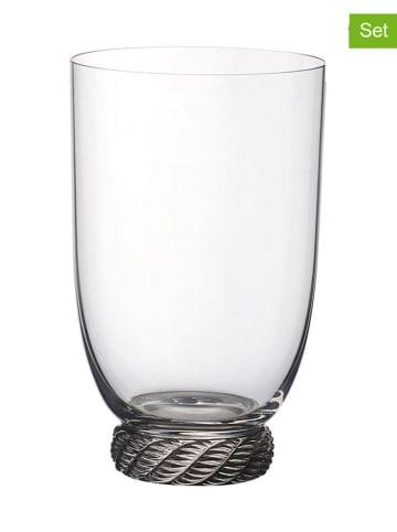 """Villeroy & Boch 4-delige set: glazen """"Montauk"""" beige - 560 ml"""