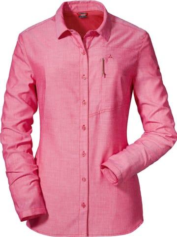 Schöffel Bluzka funkcyjna w kolorze różowym