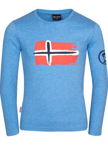 """Trollkids Functioneel longsleeve """"Oslo"""" blauw"""
