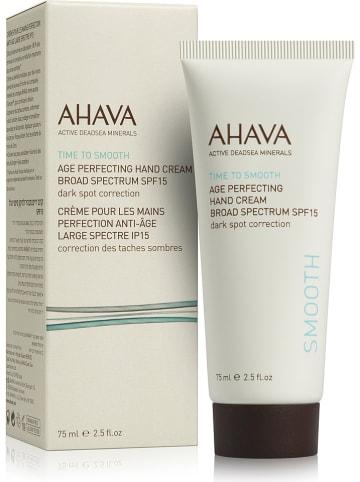 "AHAVA Handcreme ""Age Perfecting"" - LSF 15, 75 ml"