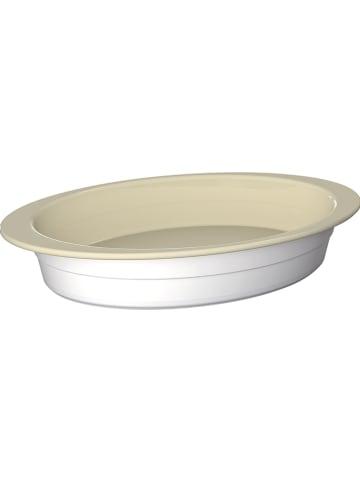 """WESCO Ovenschaal """"Bake'n Hot"""" crème/wit - (B)37 x (H)6 x (D)23 cm"""