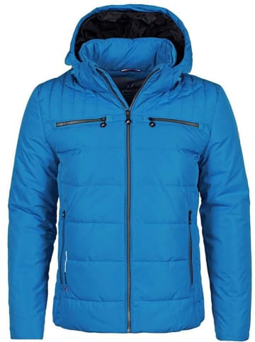 Peak Mountain Winterjas blauw
