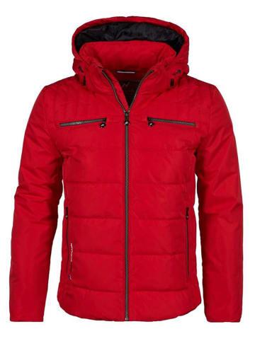 Peak Mountain Winterjas rood