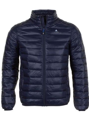 Peak Mountain Doorgestikte jas donkerblauw