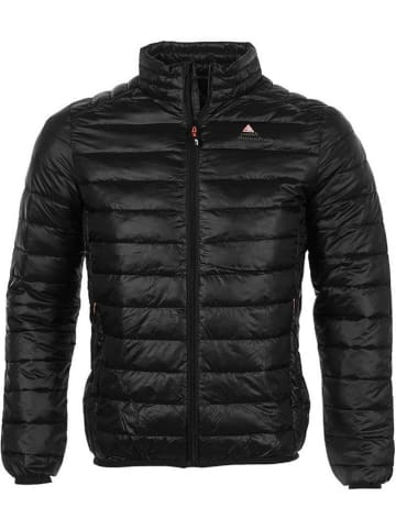 Peak Mountain Doorgestikte jas zwart
