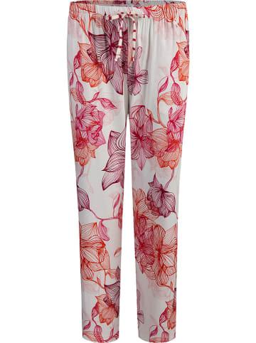SHORT STORIES Pyjamabroek wit/paars/roze