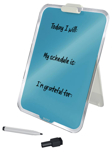 """Leitz Schreibtisch-Notizboard """"Cozy"""" in Türkis - (B)21,6 x (H)29,7 cm"""