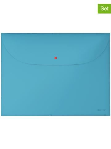 """Leitz Koszulka """"Cosy"""" w kolorze turkusowym na dokumenty - A4"""