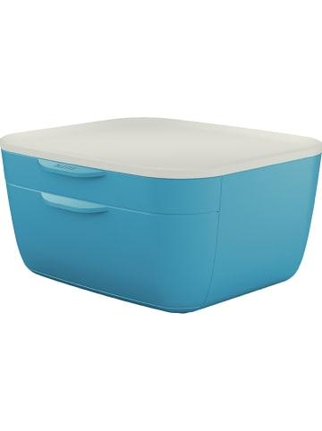 """Leitz Ladebox """"Cosy"""" turquoise  - (B)25 x (H)14,3 x (D)27,5 cm"""
