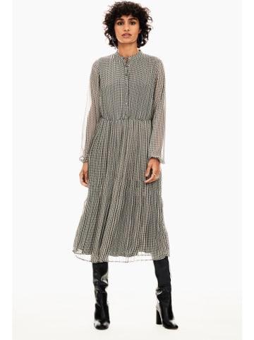 Garcia Sukienka w kolorze czarno-białym