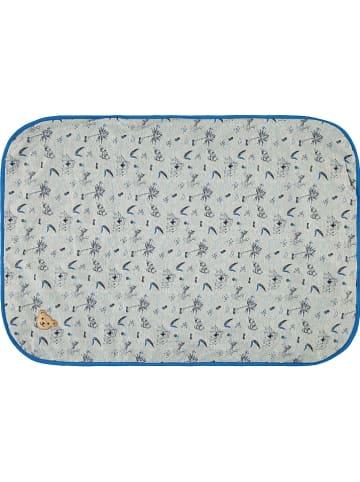 Steiff Decke in Grau/ Blau - (L)95 x (B)65 cm