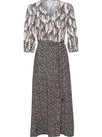 RIANI Sukienka w kolorze czarno-kremowym