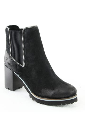 "Manoukian Leder-Chelsea-Boots ""Pole"" in Schwarz"