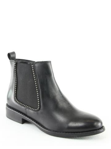 """Manoukian Leder-Chelsea-Boots """"Ruby"""" in Schwarz"""