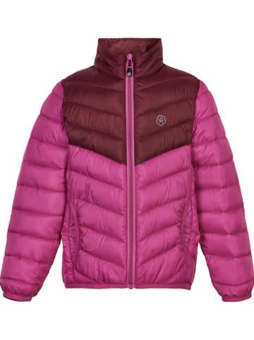 Color Kids Winterjacke in Pink/ Rosa