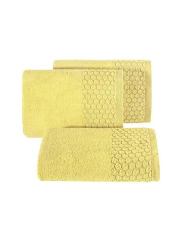 """Eurofirany Ręcznik """"Lucas"""" w kolorze żółtym"""