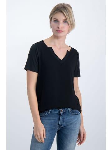 "Garcia Koszulka ""Active"" w kolorze czarnym"